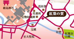 紅葉の賀地図2